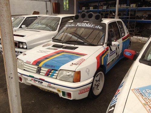 1990 peugeot 205 gutman rally For Sale (picture 1 of 1)
