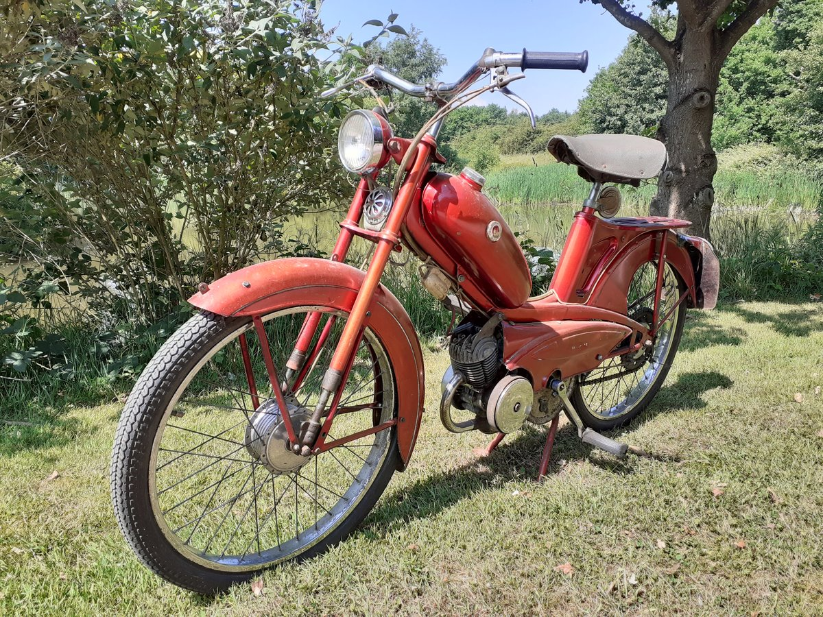 1964 PHILLIPS PANDA 49CC ~ OWNED 49 YRS ~ 2 OWNERS RARE! For Sale (picture 1 of 6)