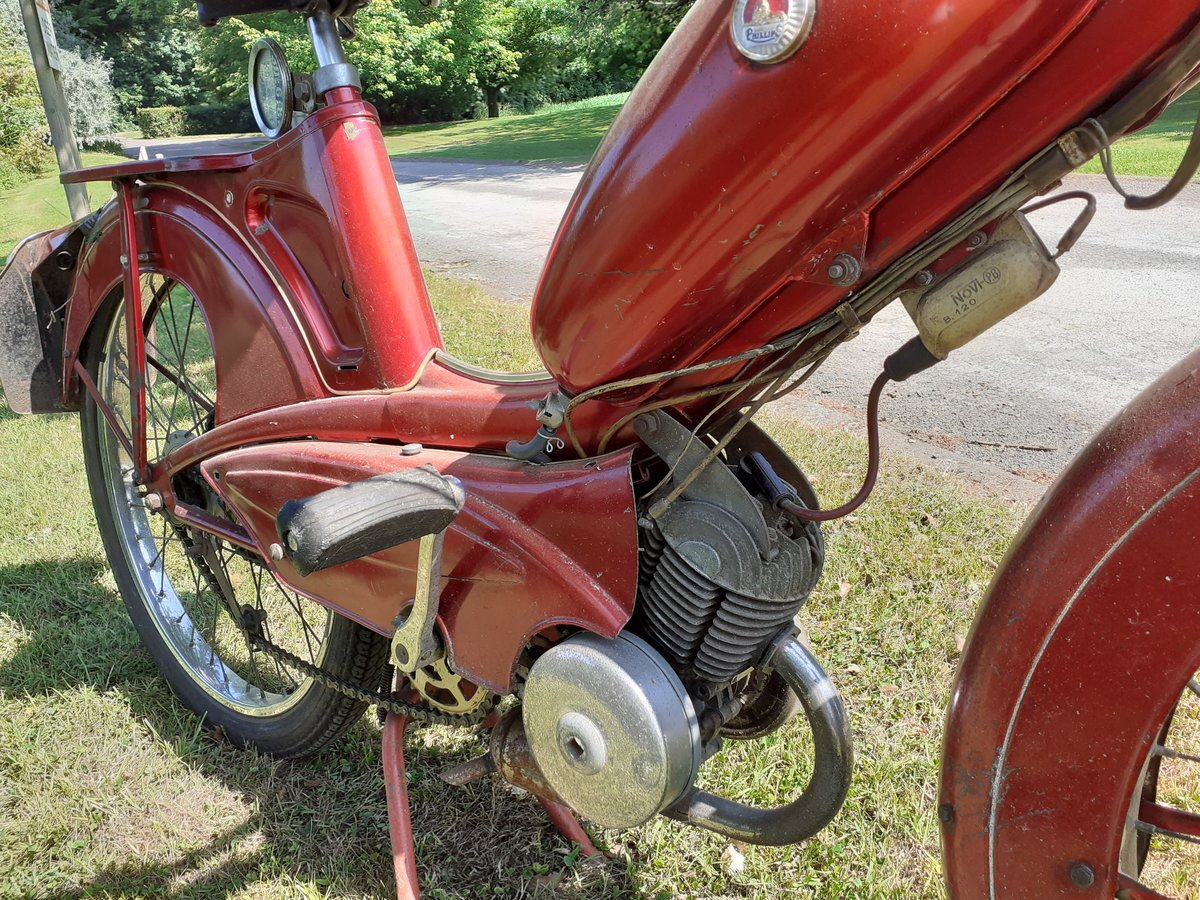 1964 PHILLIPS PANDA 49CC ~ OWNED 49 YRS ~ 2 OWNERS RARE! For Sale (picture 2 of 6)