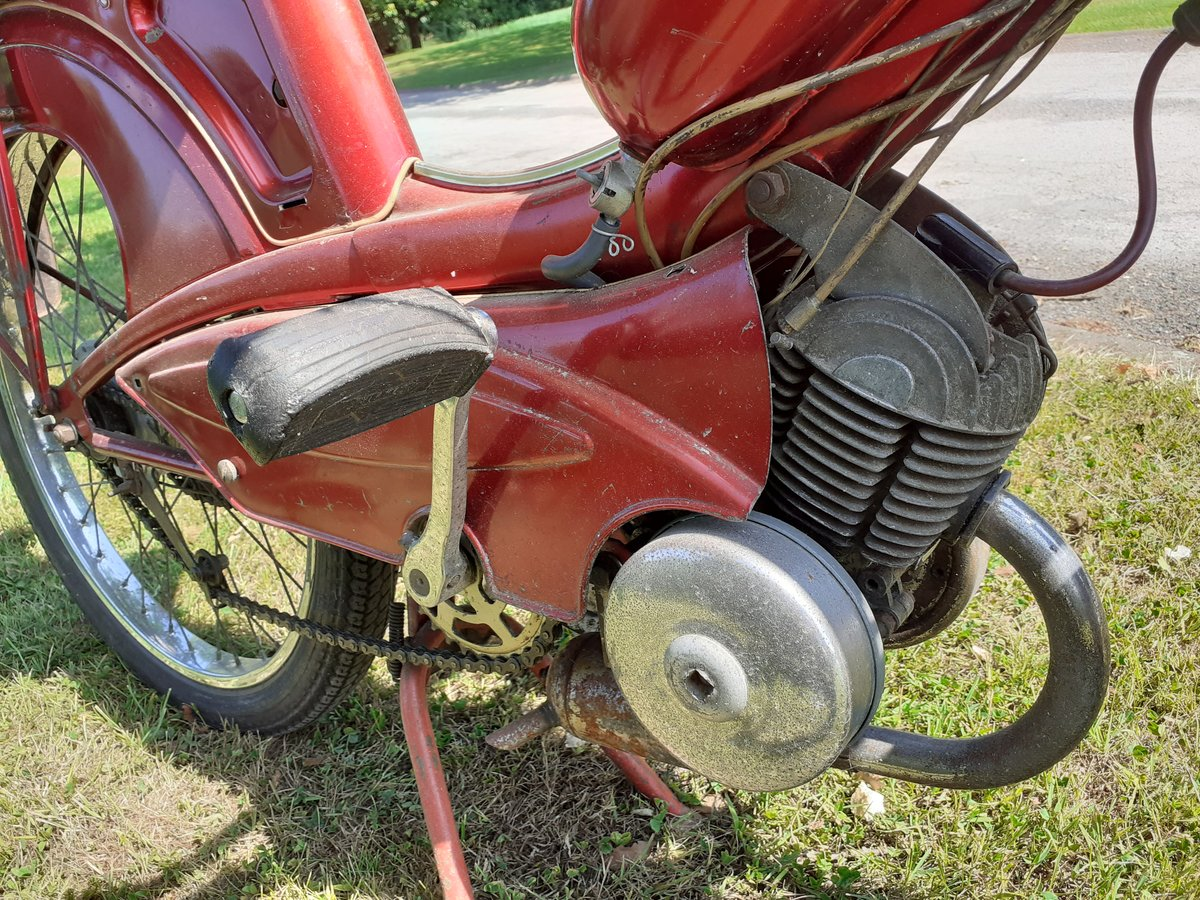 1964 PHILLIPS PANDA 49CC ~ OWNED 49 YRS ~ 2 OWNERS RARE! For Sale (picture 4 of 6)