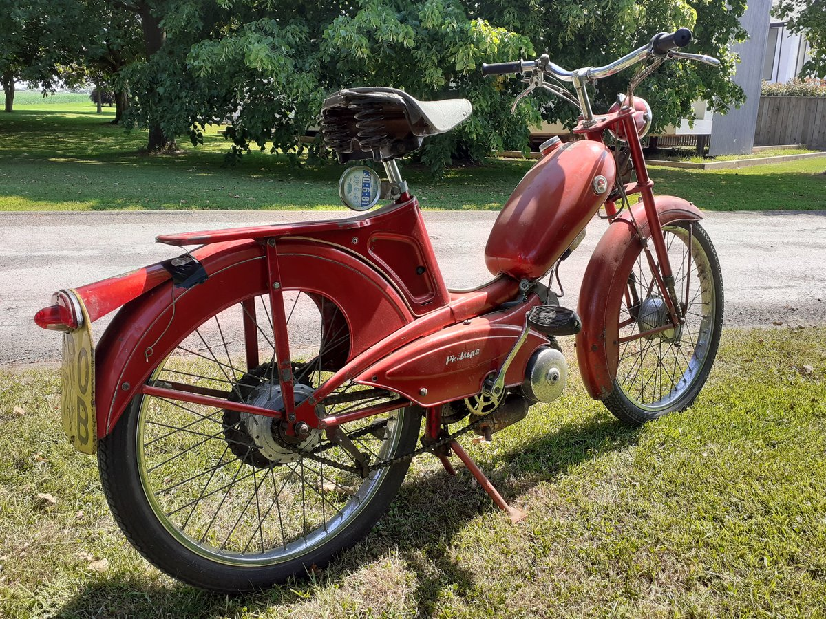 1964 PHILLIPS PANDA 49CC ~ OWNED 49 YRS ~ 2 OWNERS RARE! For Sale (picture 6 of 6)