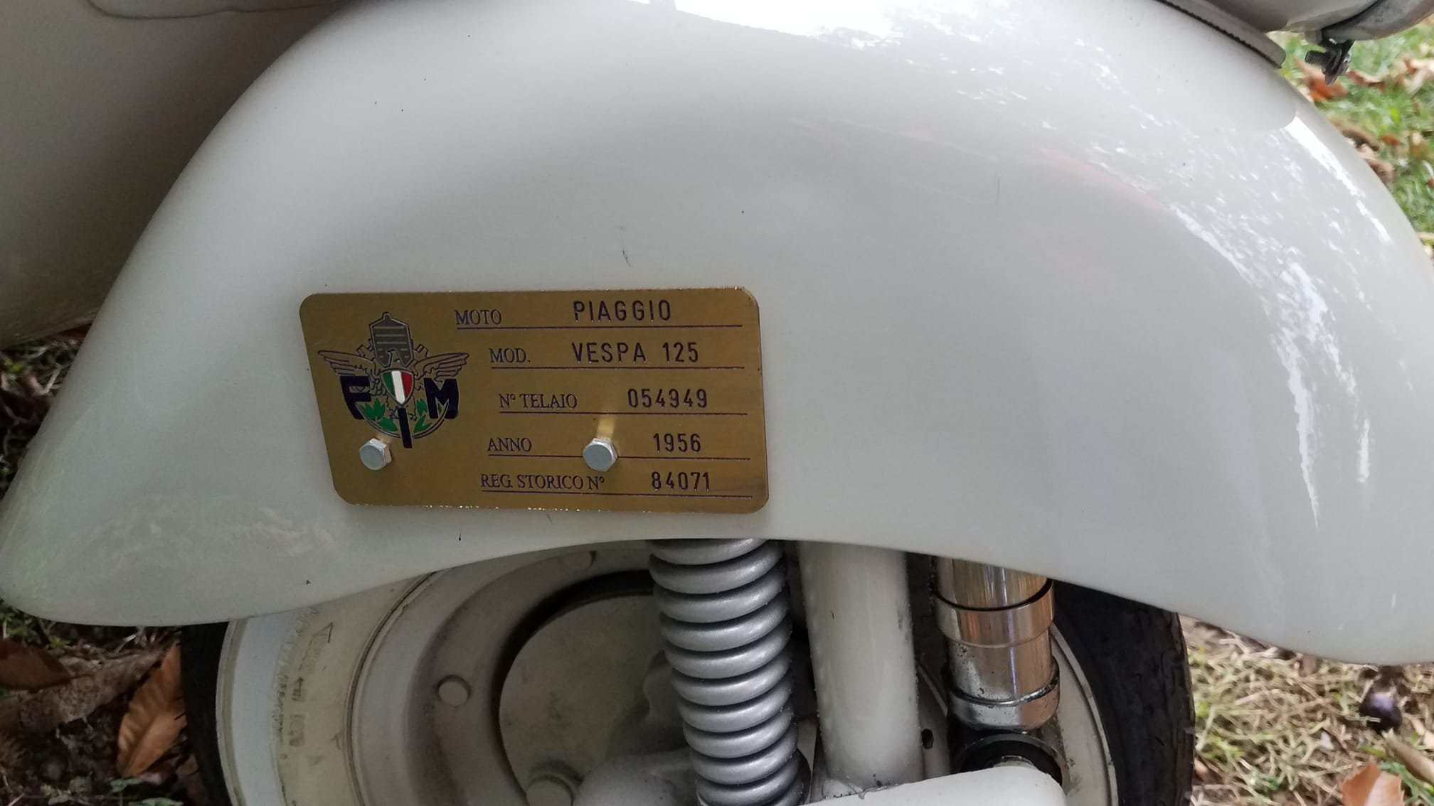 Vespa 125 year 1956 For Sale (picture 4 of 6)