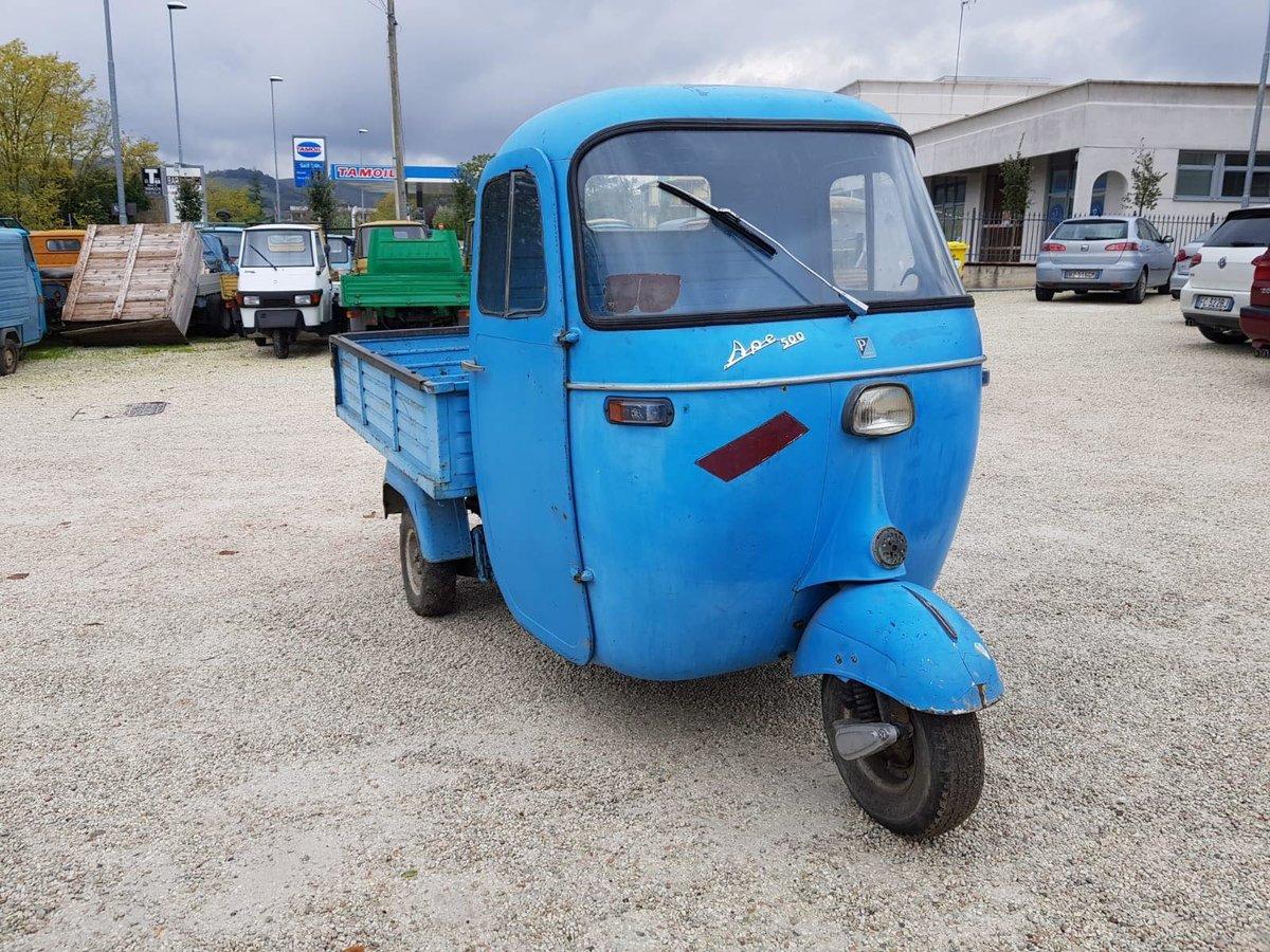1966 Piaggio Ape AD1T | Ape 500 | 175cc For Sale (picture 6 of 6)