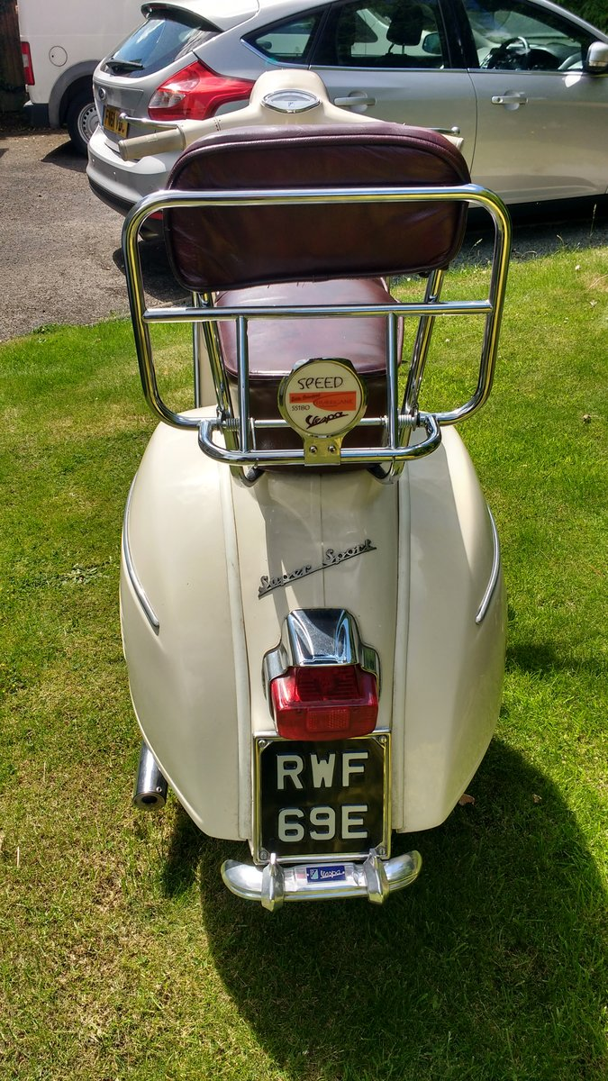 1967  Vespa SS 180 / 200 For Sale (picture 4 of 4)