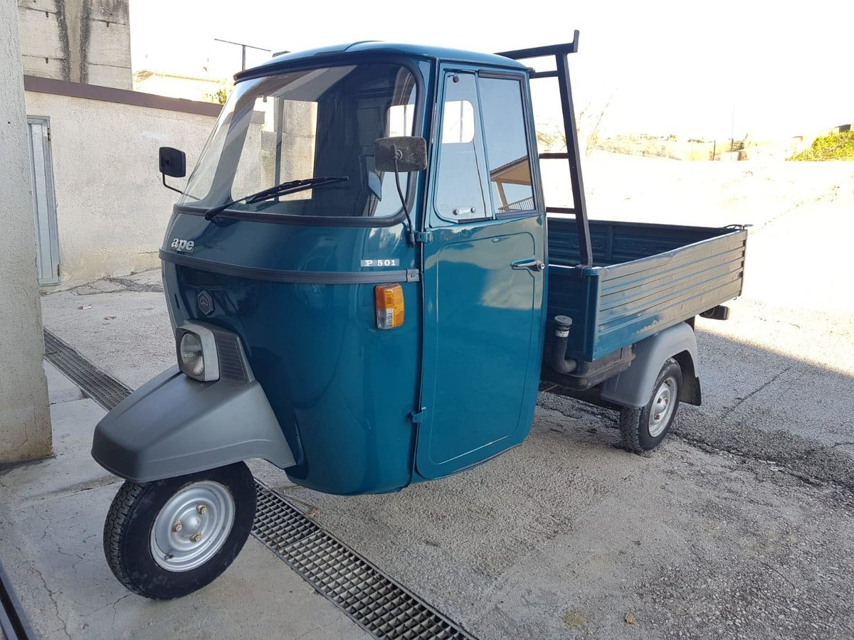 1992 Piaggio APE P501 189CC Fully Uk Registered  For Sale (picture 1 of 6)