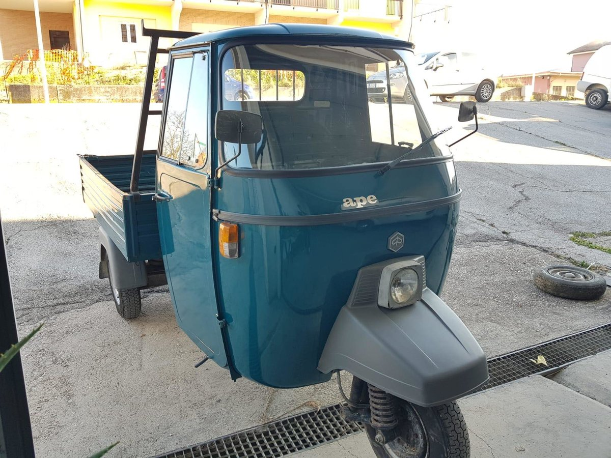 1992 Piaggio APE P501 189CC Fully Uk Registered  For Sale (picture 2 of 6)