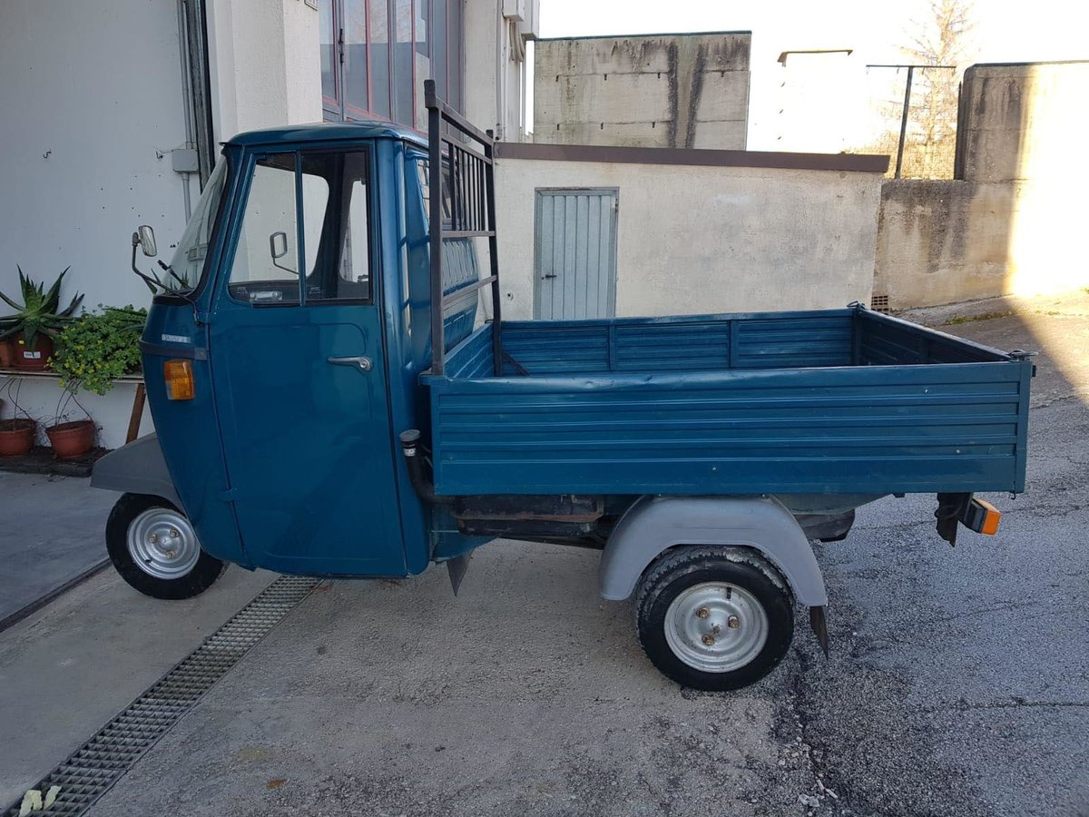 1992 Piaggio APE P501 189CC Fully Uk Registered  For Sale (picture 5 of 6)