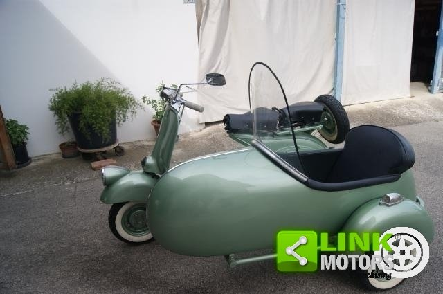 vespa bacchetta sidecar 1949 restauro totale For Sale (picture 1 of 6)