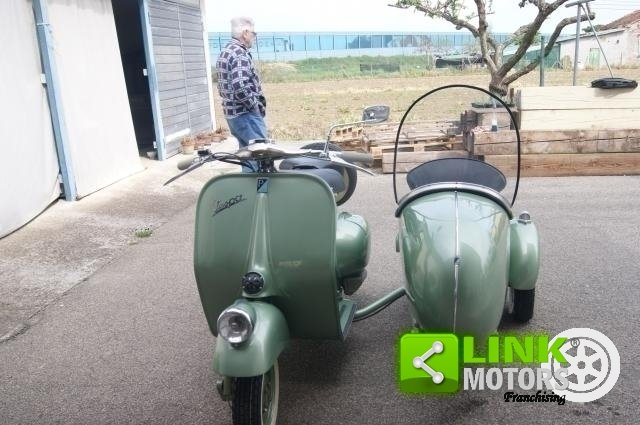 vespa bacchetta sidecar 1949 restauro totale For Sale (picture 2 of 6)