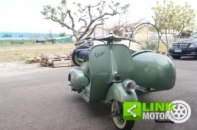 vespa bacchetta sidecar 1949 restauro totale For Sale (picture 3 of 6)