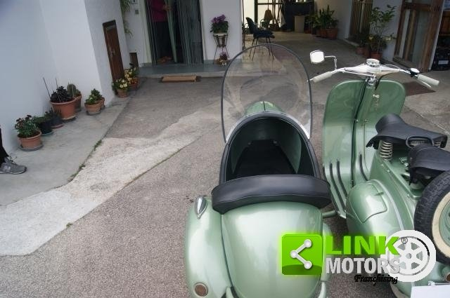 vespa bacchetta sidecar 1949 restauro totale For Sale (picture 4 of 6)