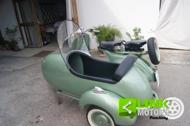 vespa bacchetta sidecar 1949 restauro totale For Sale (picture 5 of 6)