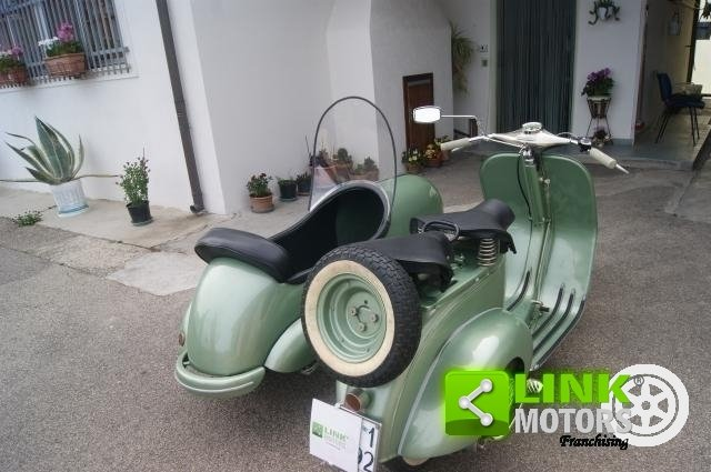 vespa bacchetta sidecar 1949 restauro totale For Sale (picture 6 of 6)