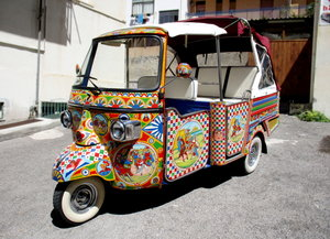 2008 PIAGGIO APE CALESSINO 400CC DIESEL () UNIQUE