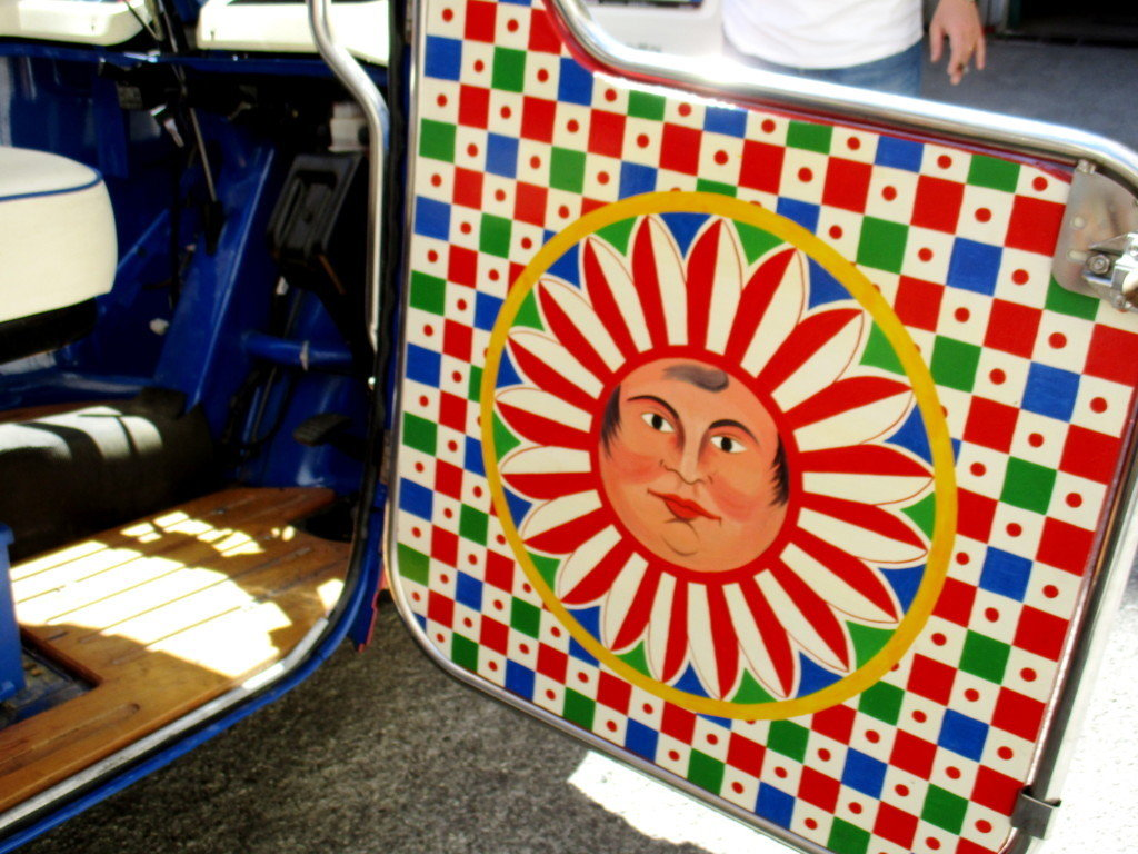 PIAGGIO APE CALESSINO 400CC DIESEL (2008) UNIQUE For Sale (picture 3 of 6)