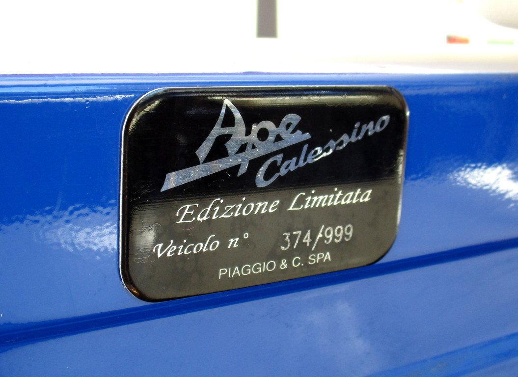 PIAGGIO APE CALESSINO 400CC DIESEL (2008) UNIQUE For Sale (picture 6 of 6)