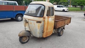 1966 Piaggio Ape E 350 | AE01T 125cc For Sale