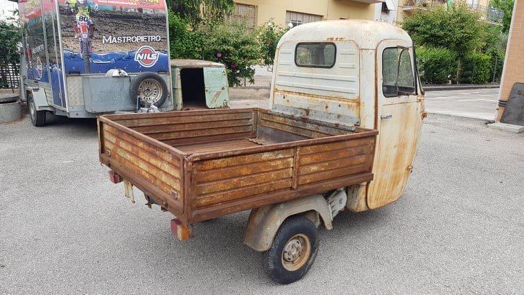 1966 Piaggio Ape E 350 | AE01T 125cc For Sale (picture 2 of 5)