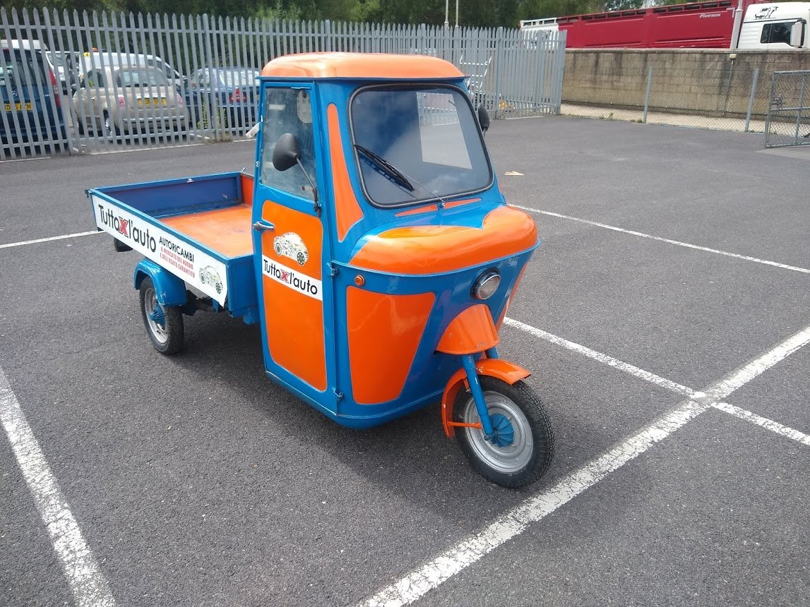 1969 Piaggio Ape for auction 16th - 17th July For Sale by Auction (picture 1 of 6)