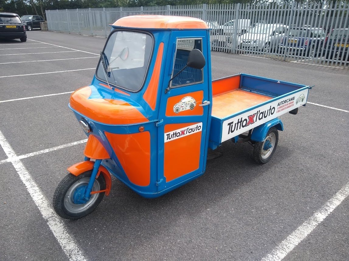 1969 Piaggio Ape for auction 16th - 17th July For Sale by Auction (picture 2 of 6)