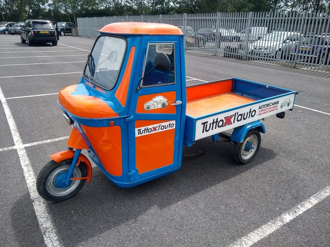 1969 Piaggio Ape for auction 16th - 17th July For Sale by Auction (picture 4 of 6)