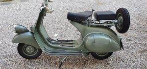 Picture of 1952 PIAGGIO VESPA 125 FARO BASSO For Sale