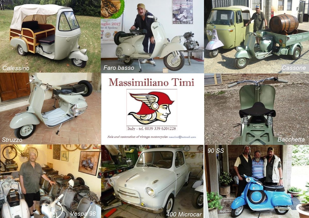 1968 Piaggio Ape D-AD2 people transport For Sale (picture 6 of 6)