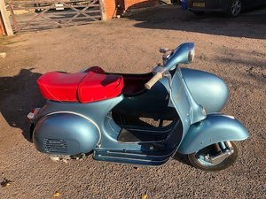 Picture of 1958 Piaggio Vespa 150 Scooter Combination For Sale by Auction