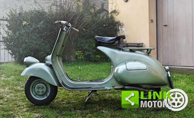 Piaggio VESPA 125 FARO BASSO BACHETTA 1950 For Sale (picture 4 of 6)