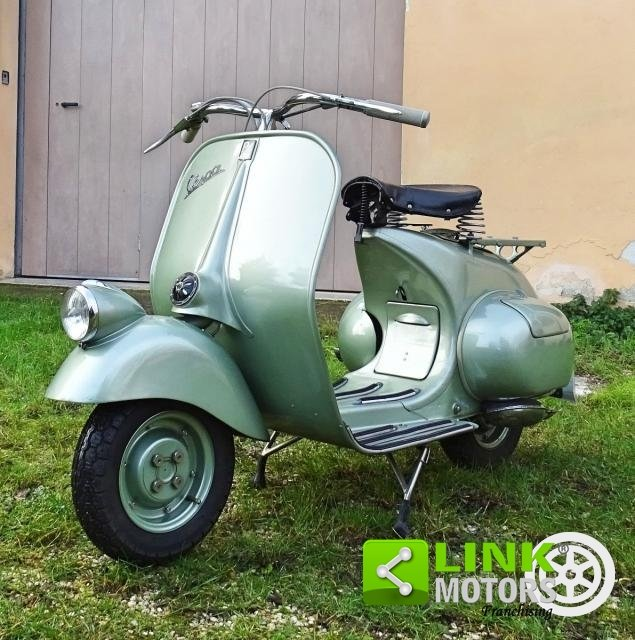 Piaggio VESPA 125 FARO BASSO BACHETTA 1950 For Sale (picture 5 of 6)