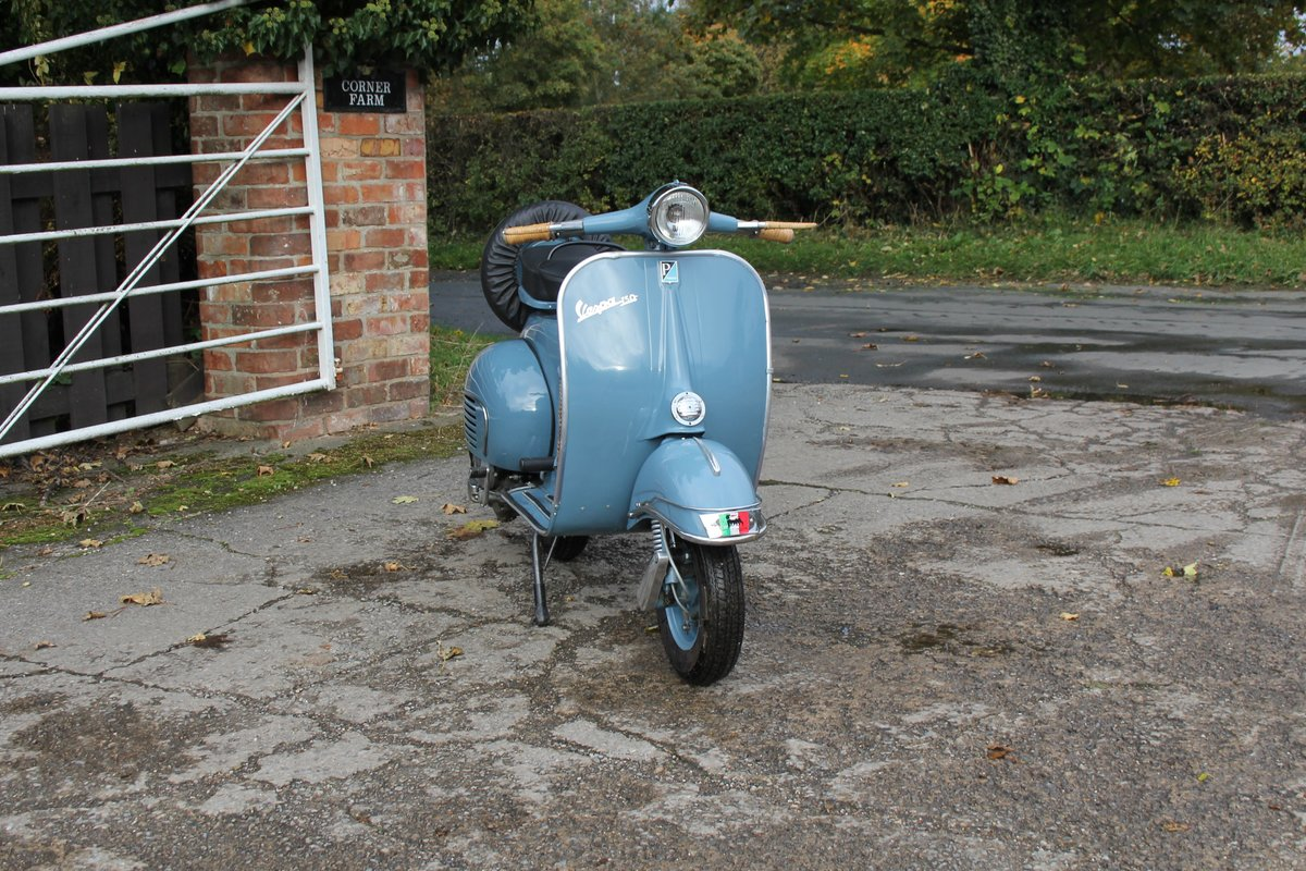 1962 Piaggio Vespa VBB 150, Stunning Example For Sale (picture 1 of 6)