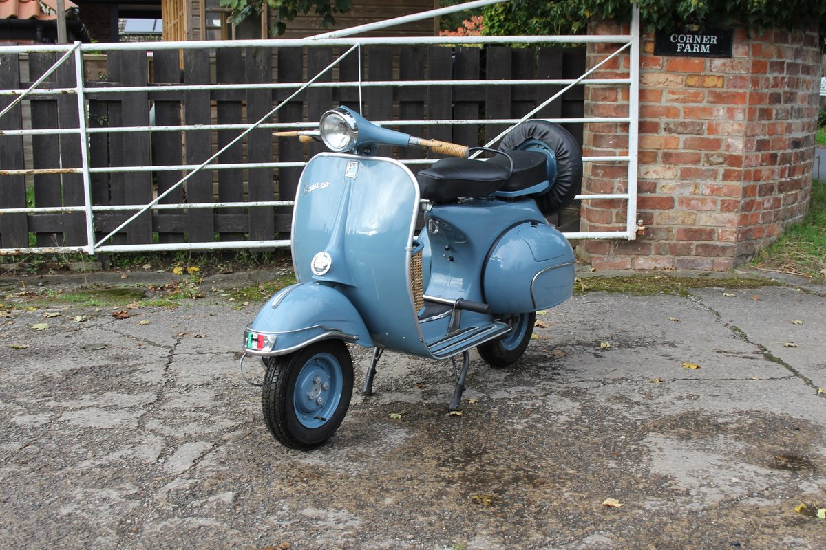 1962 Piaggio Vespa VBB 150, Stunning Example For Sale (picture 2 of 6)
