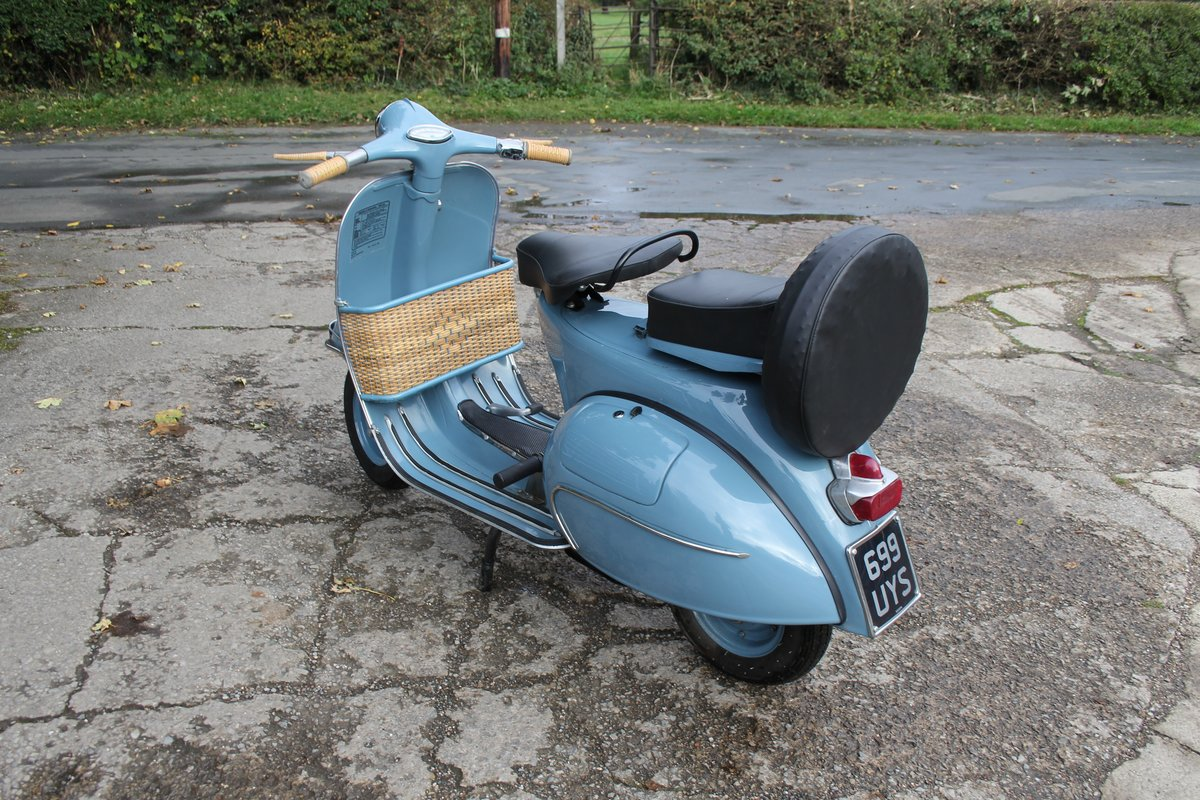 1962 Piaggio Vespa VBB 150, Stunning Example For Sale (picture 3 of 6)