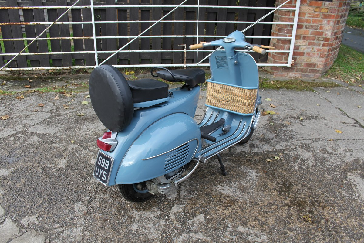 1962 Piaggio Vespa VBB 150, Stunning Example For Sale (picture 4 of 6)