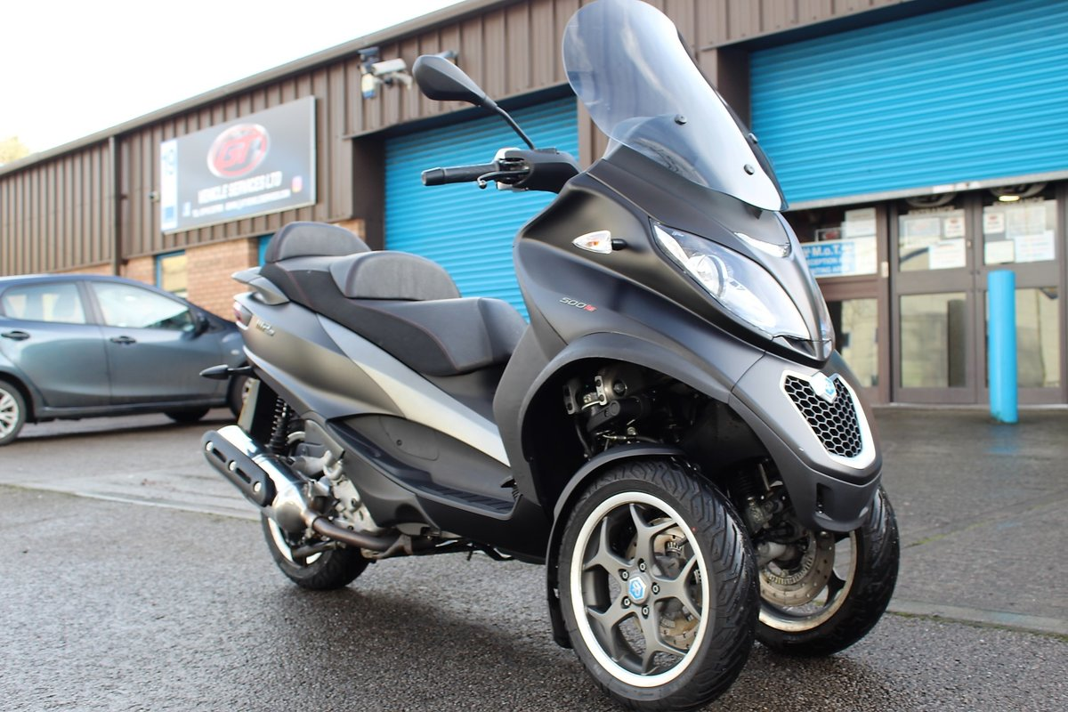 2017 17 Piaggio MP3 500 LT SPORT ABS *RIDE ON A CAR LICENCE* For Sale (picture 2 of 12)