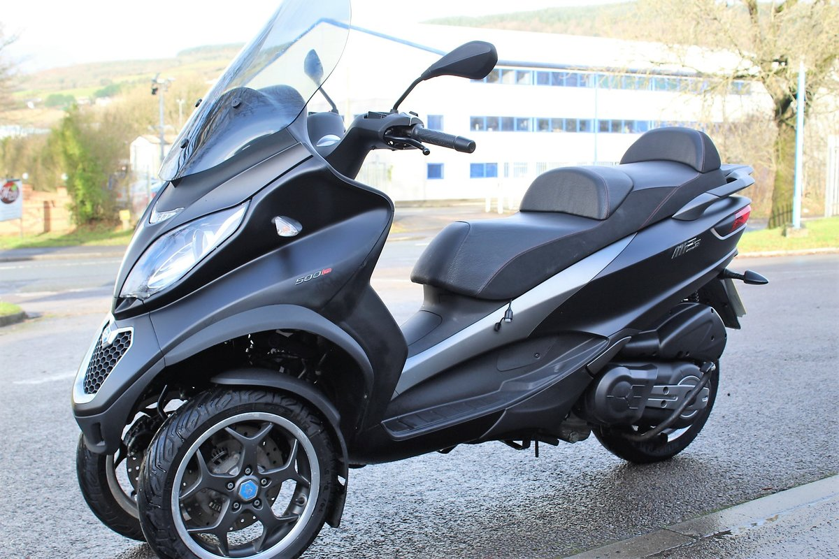 2017 17 Piaggio MP3 500 LT SPORT ABS *RIDE ON A CAR LICENCE* For Sale (picture 3 of 12)