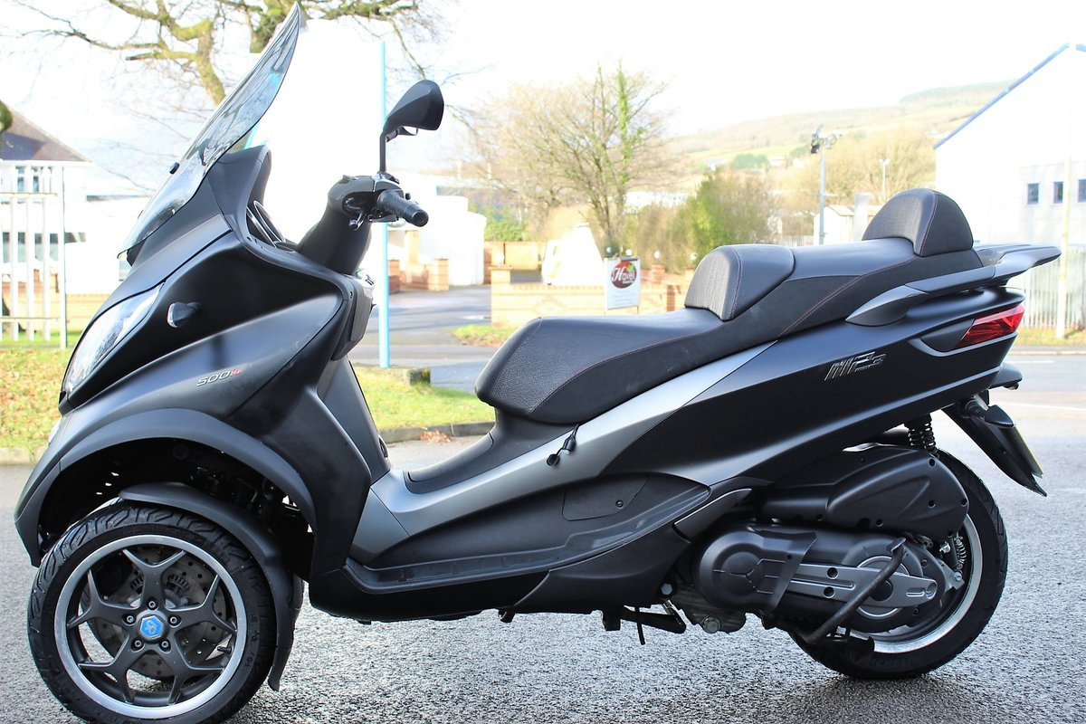 2017 17 Piaggio MP3 500 LT SPORT ABS *RIDE ON A CAR LICENCE* For Sale (picture 4 of 12)