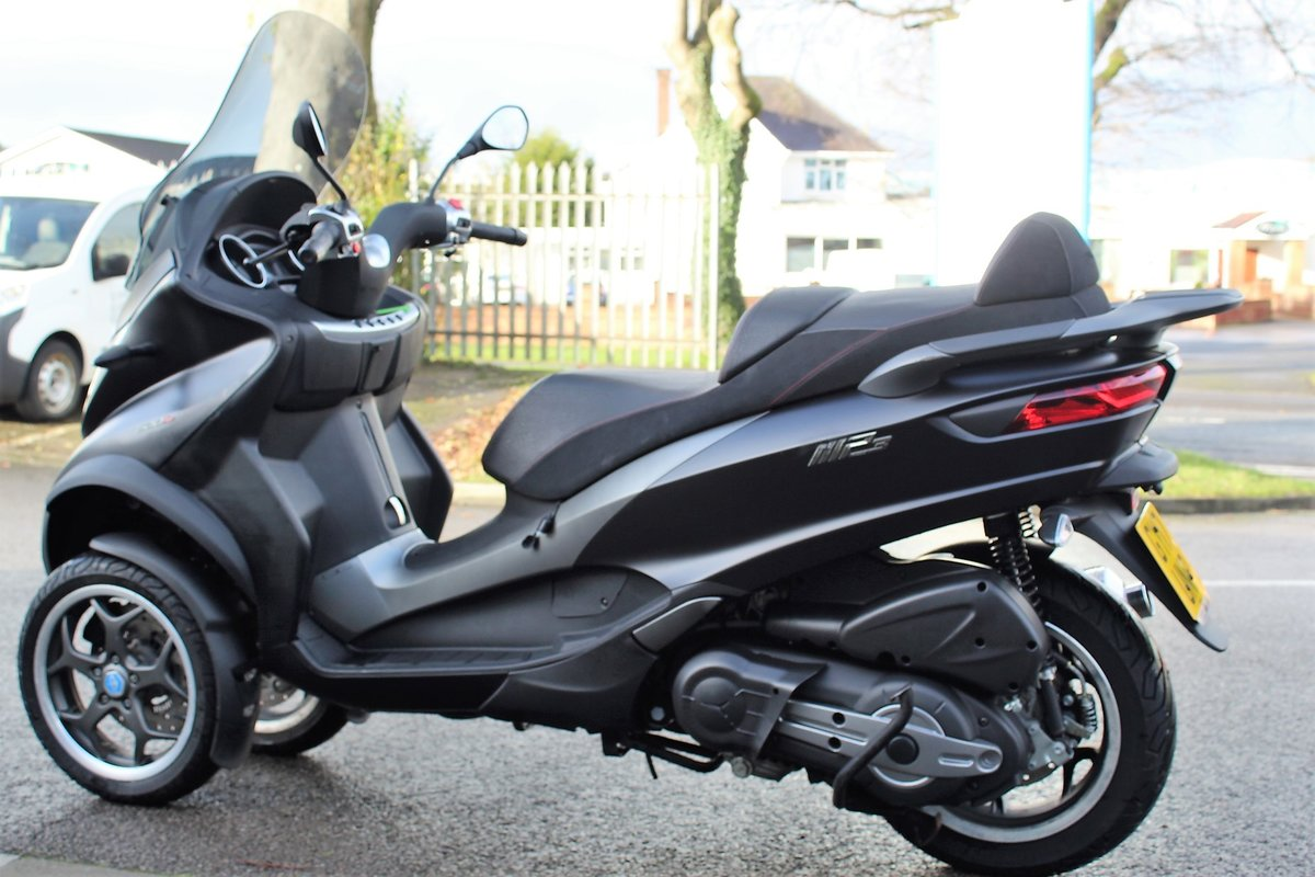 2017 17 Piaggio MP3 500 LT SPORT ABS *RIDE ON A CAR LICENCE* For Sale (picture 5 of 12)