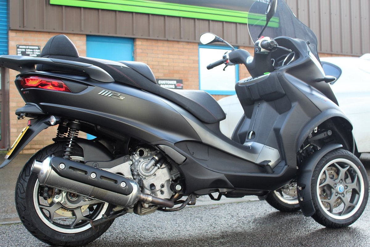 2017 17 Piaggio MP3 500 LT SPORT ABS *RIDE ON A CAR LICENCE* For Sale (picture 6 of 12)