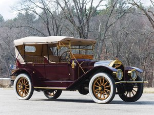 1912  Pierce-Arrow Model 66-QQ Five-Passenger Touring