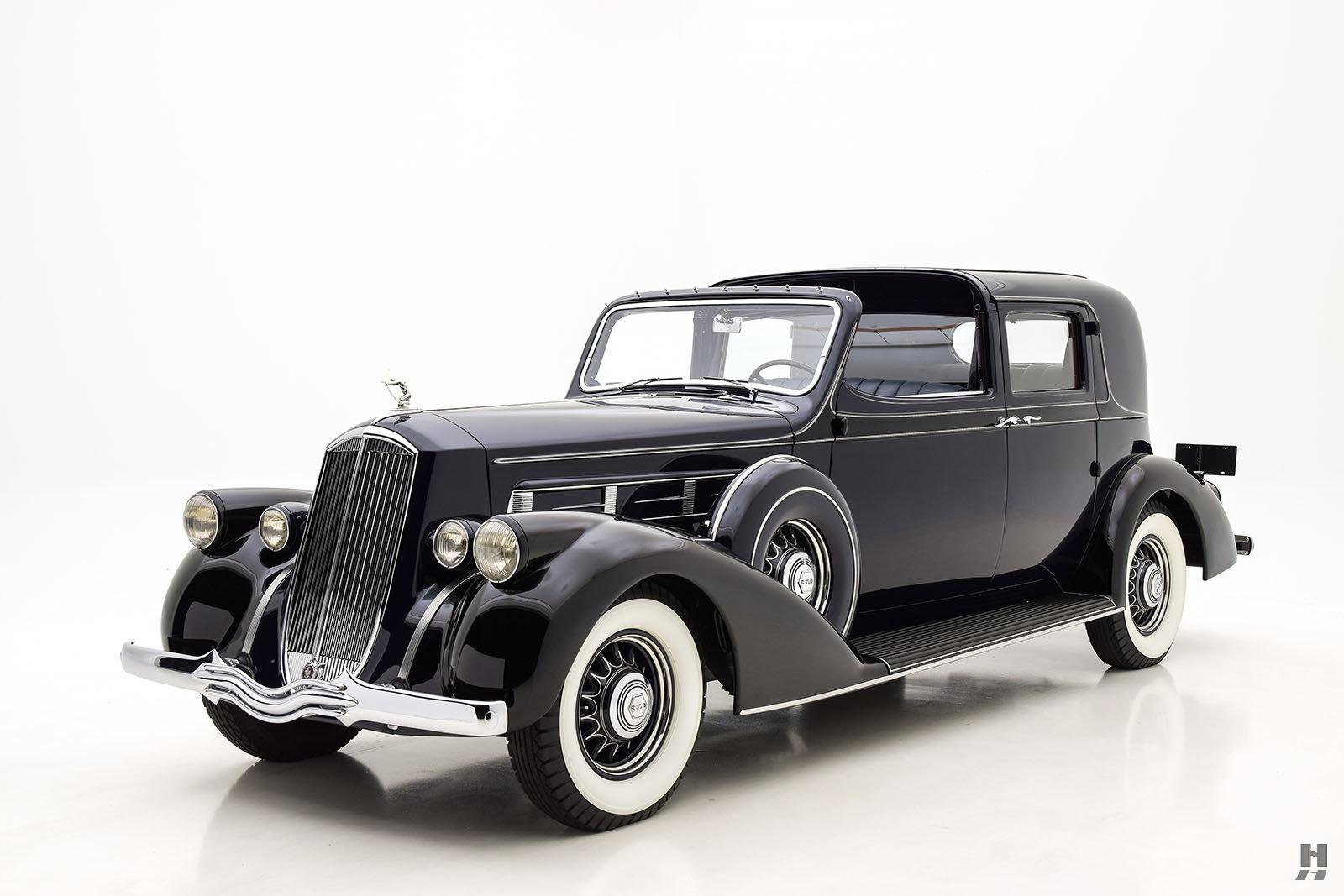 1936 PIERCE ARROW SALON TWELVE TOWN CAR BY DERHAM For Sale (picture 1 of 6)