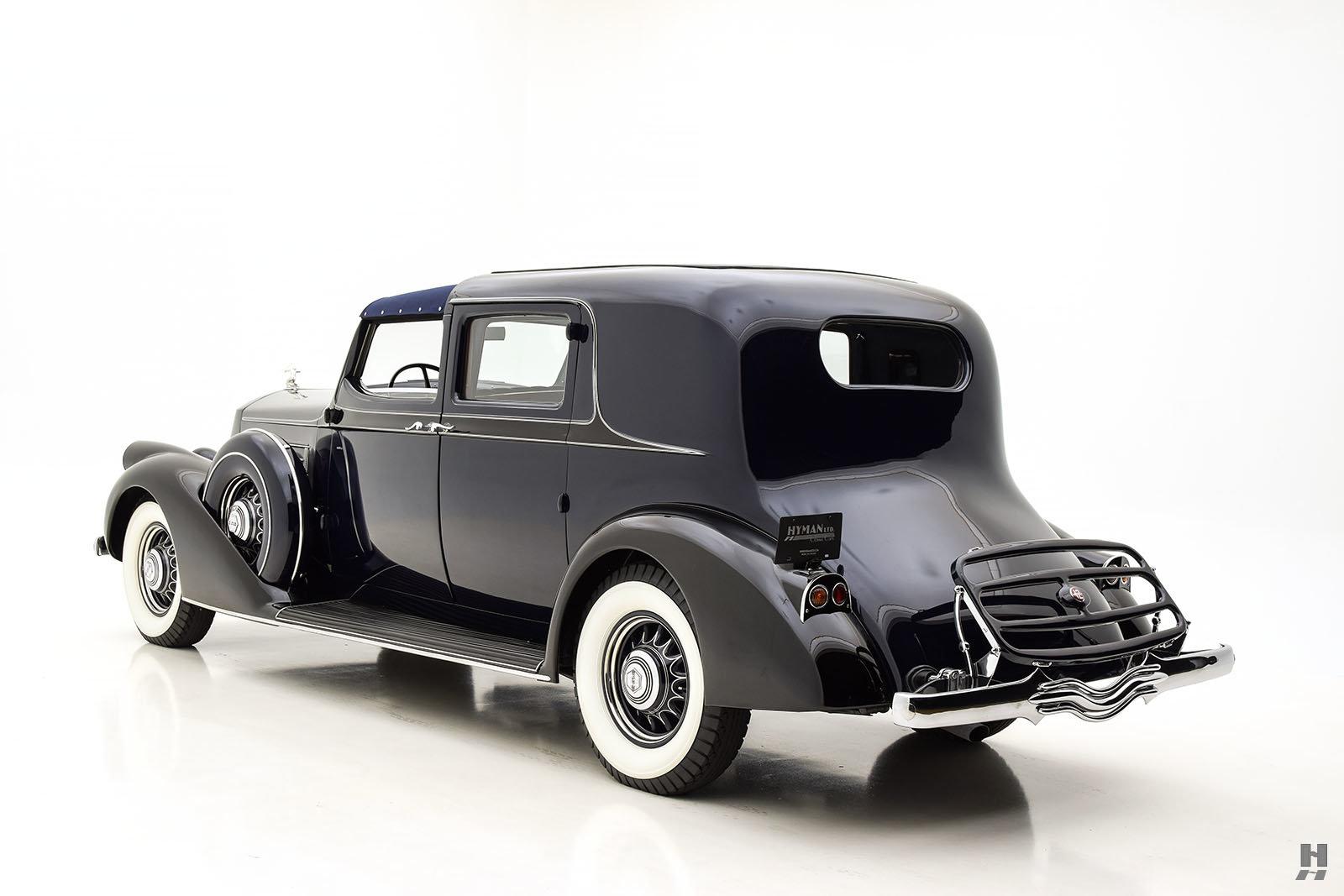 1936 PIERCE ARROW SALON TWELVE TOWN CAR BY DERHAM For Sale (picture 6 of 6)