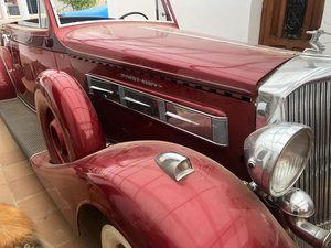 1935 Pierce Arrow coupe convertible