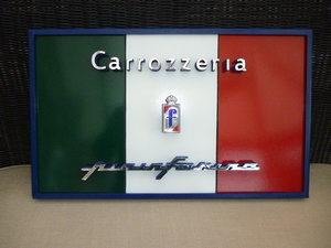 Hand Made 3D Pininfarina Wall Art