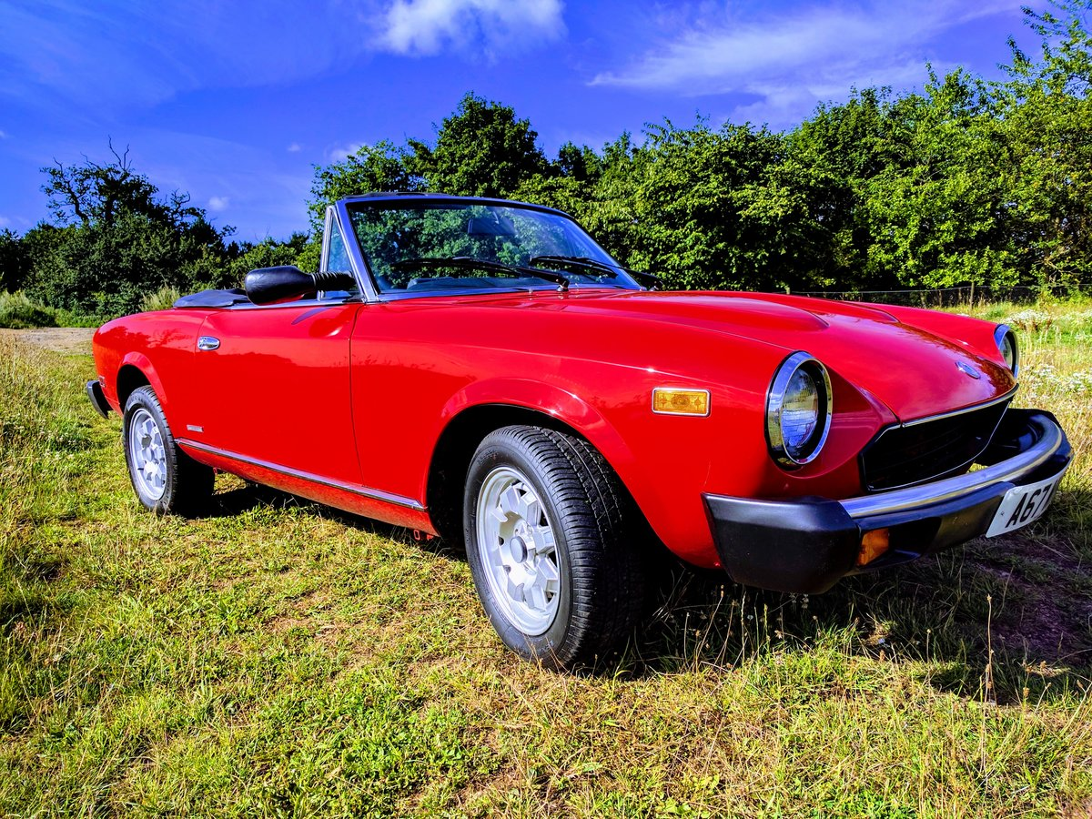 1984 Aka Fiat 124 Spider For Sale (picture 3 of 5)