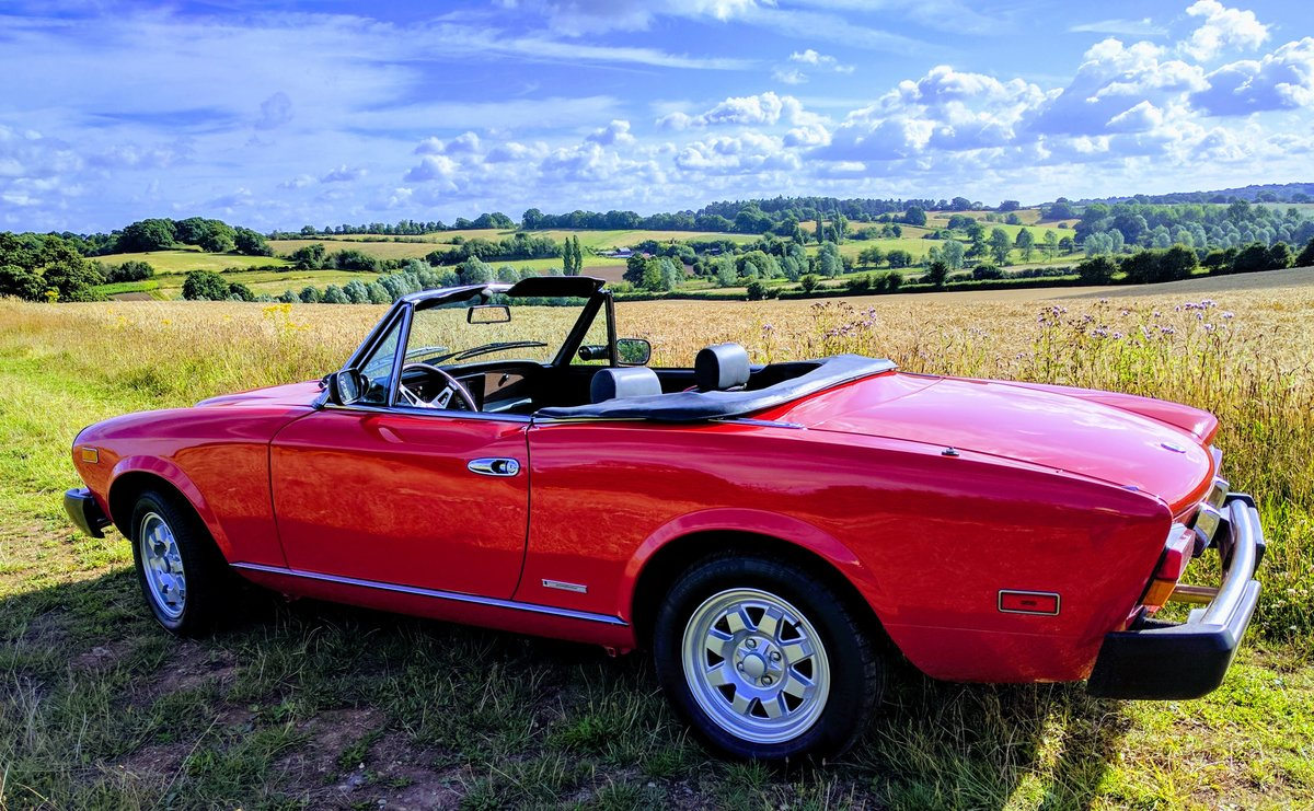 1984 Aka Fiat 124 Spider For Sale (picture 5 of 5)