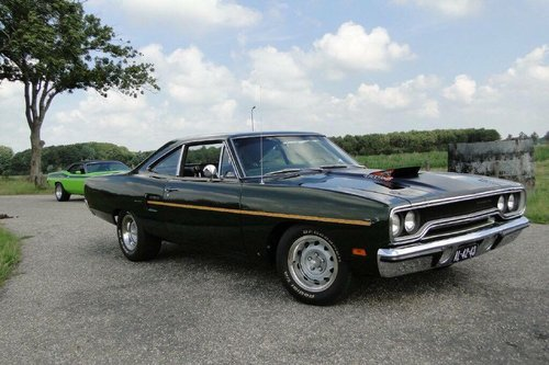 1970 Plymouth Roadrunner 440+6 4 speed in Concours condition For Sale (picture 1 of 6)