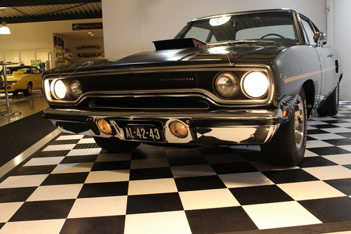 1970 Plymouth Roadrunner 440+6 4 speed in Concours condition For Sale (picture 6 of 6)