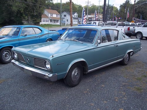 1966 Plymouth Barracuda Survivor SOLD (picture 1 of 6)