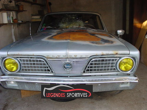 1966 Plymouth Barracuda For Sale (picture 5 of 6)